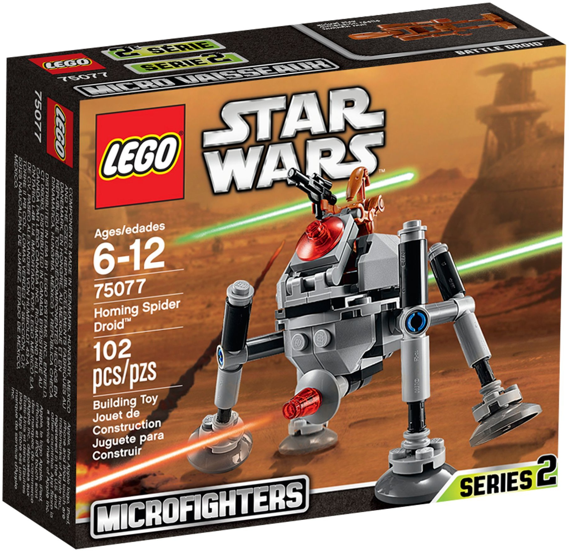 LEGO 75077 - Star Wars - Homing Spider Droid