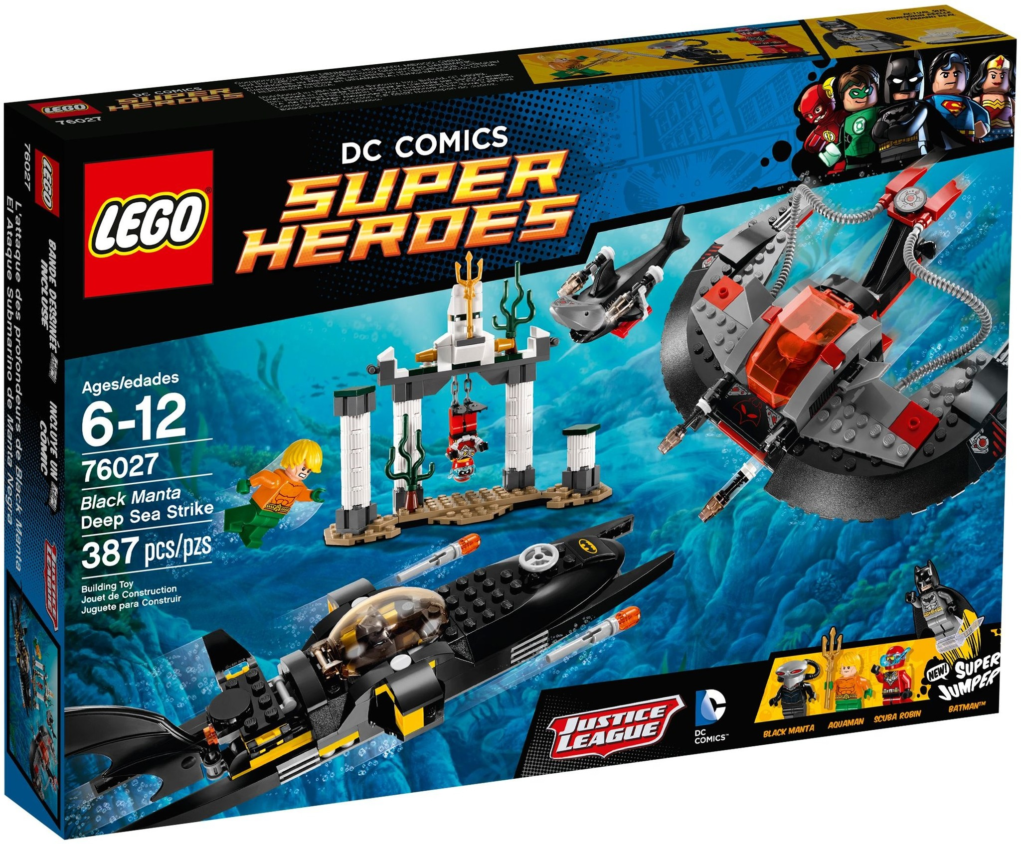 LEGO 76027 - Super Heroes - Black Manta Deep Sea Strike