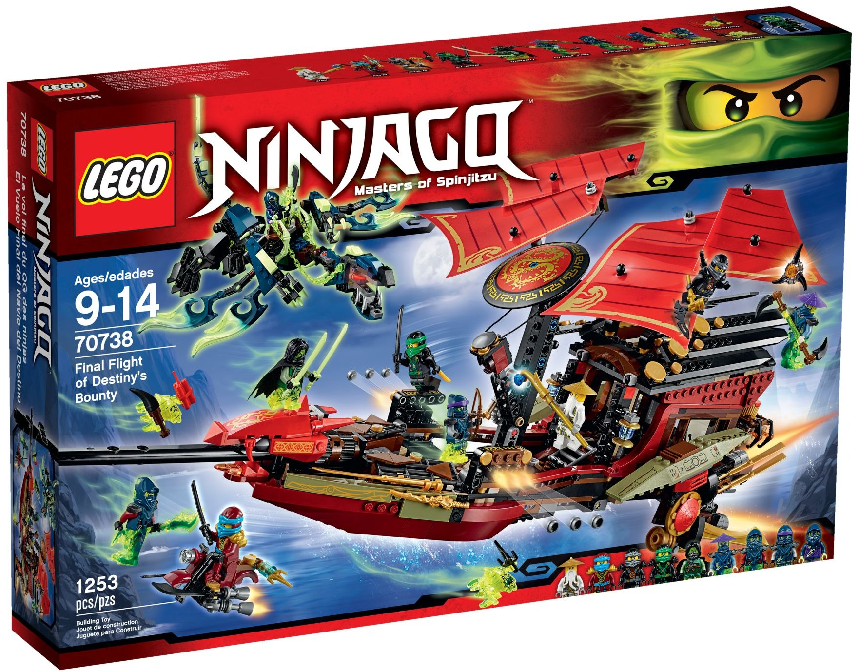 LEGO 70738 - Ninjago - Final Flight of Destiny's Bounty