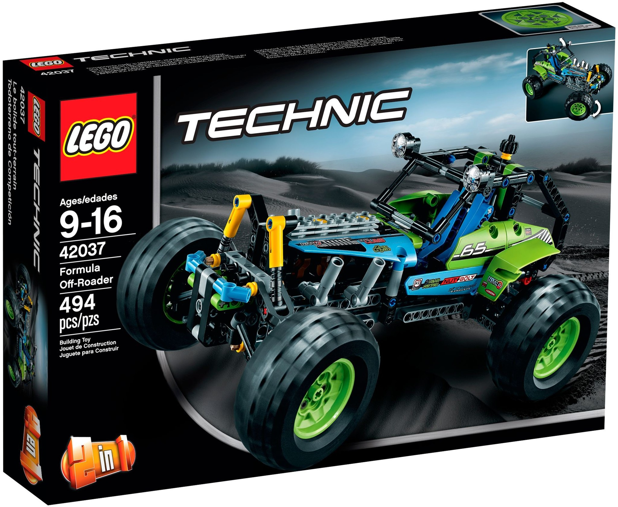 LEGO 42037 - Technic - Formula Off-Roader