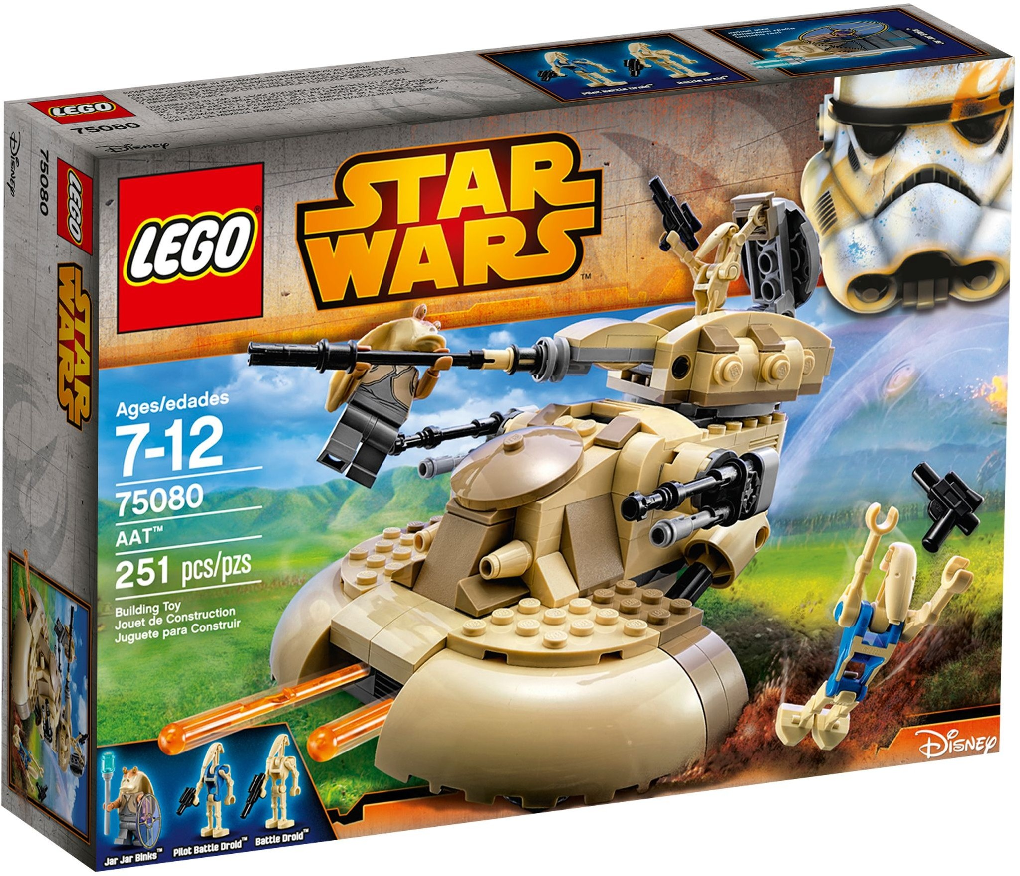 LEGO 75080 - Star Wars - AAT
