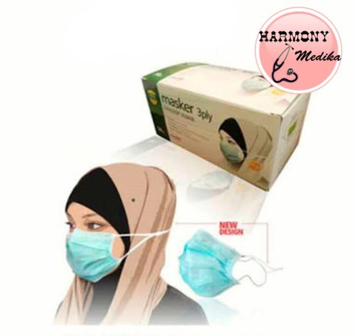 Masker Jilbab/ Masker Hijab