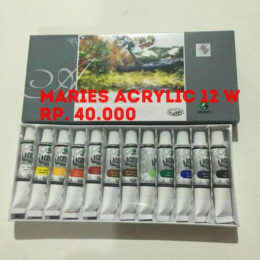 Maries Acrylic 12 Warna