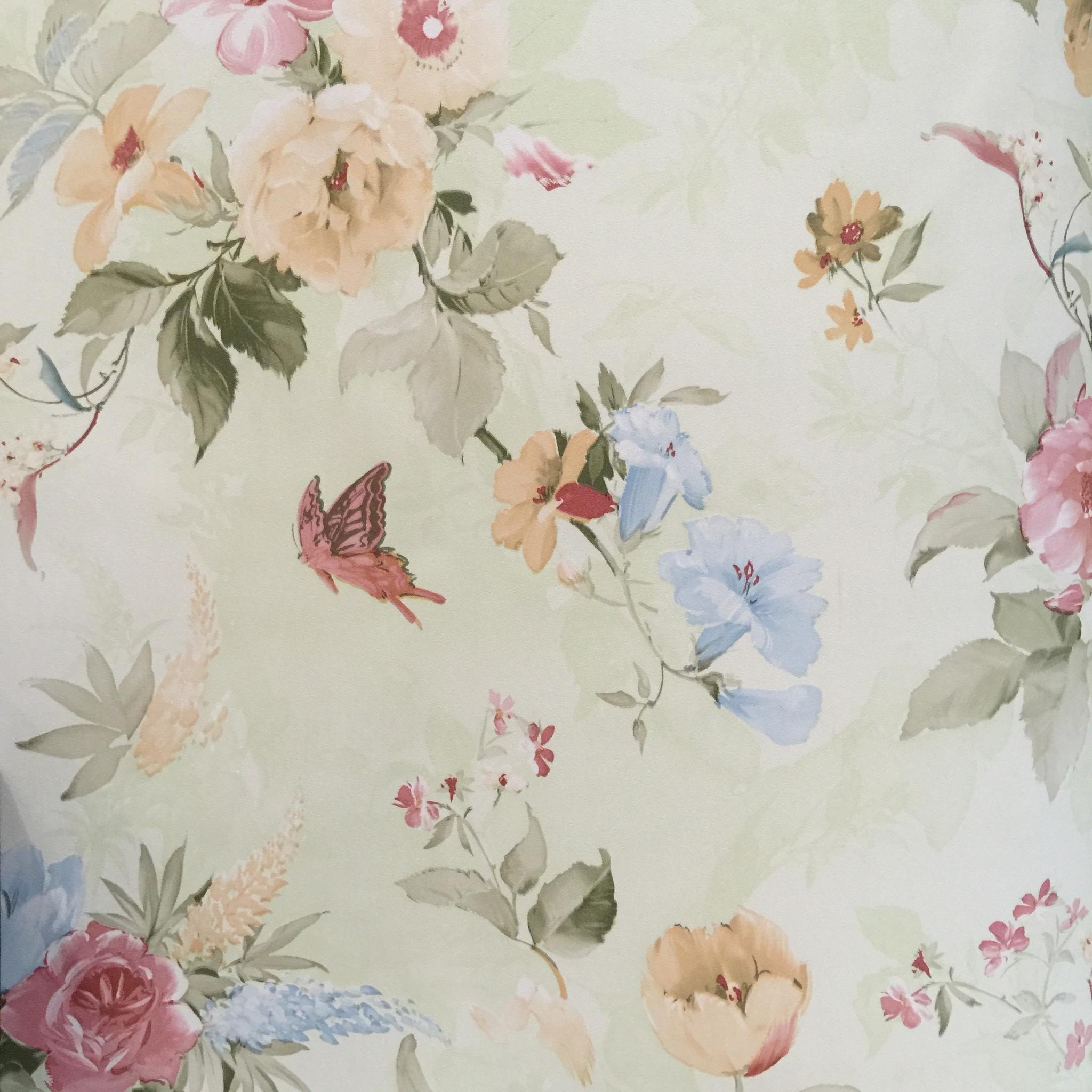 Jual Wallpaper Bunga Shabbychic Klasik Code PG04M Marigold