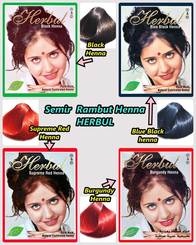 Jual Semir Rambut Henna Herbul Boutiq Mastura Tokopedia