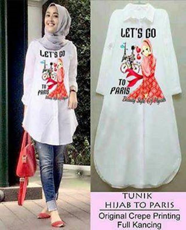 Baju Murah Terbaru Hijab To Paris