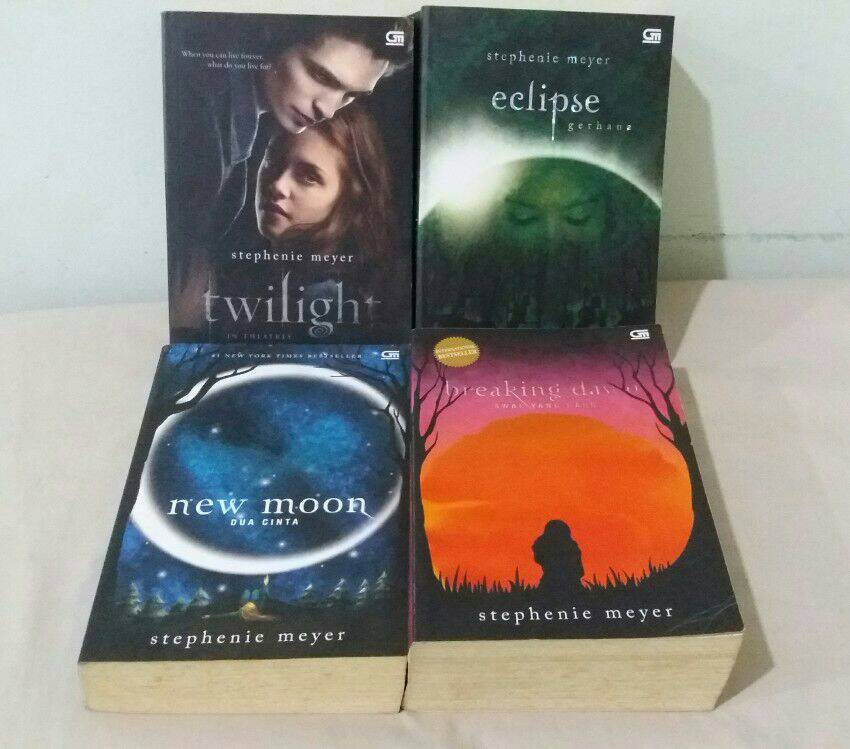 a review of stephanie meyers noveltwilight This series is a times educational supplement teachers' top 100 book i had heard of the twilight series of books by stephenie meyer about six months ago, when my american friends were raving about them.