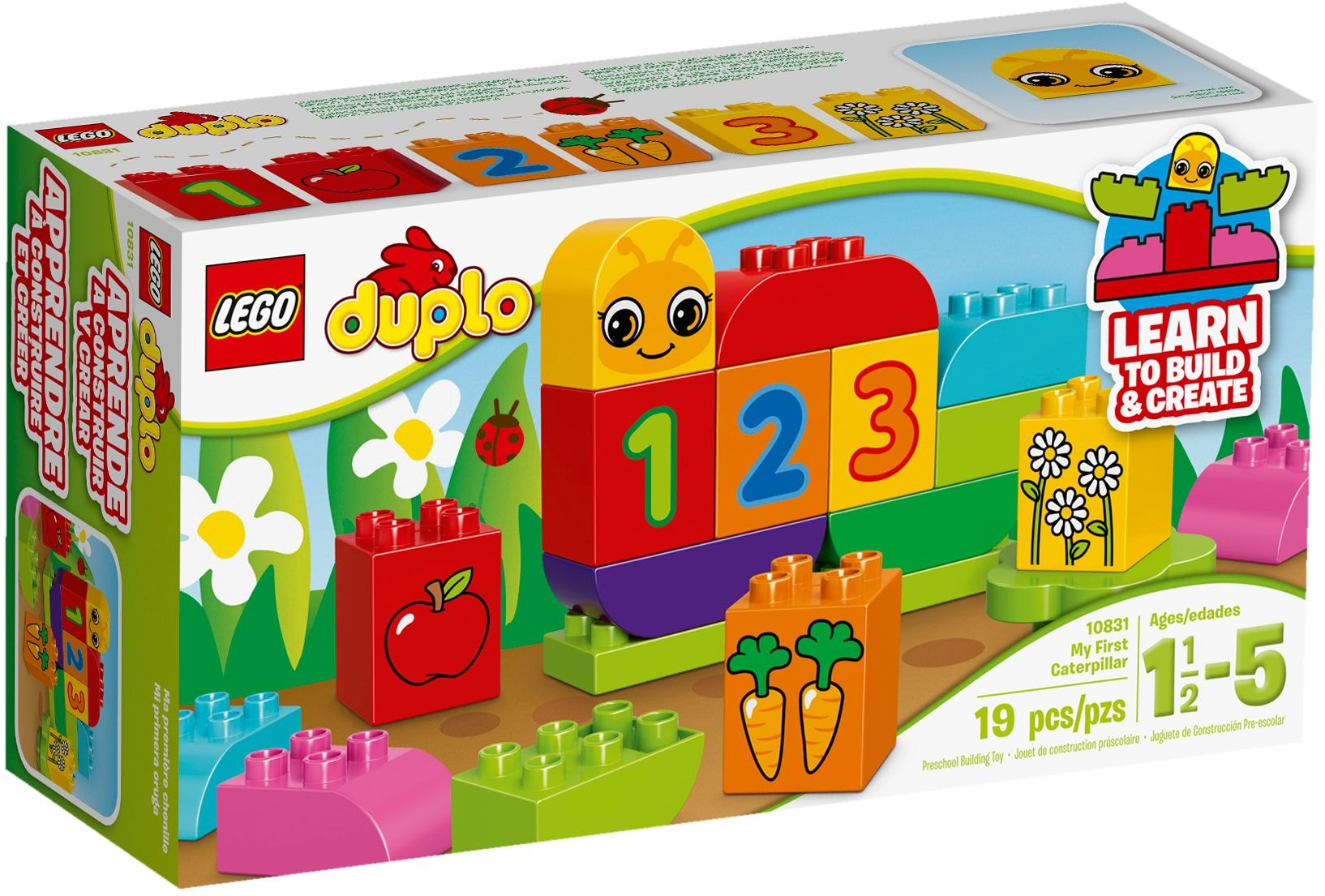 LEGO # 10831 DUPLO  My First Caterpillar