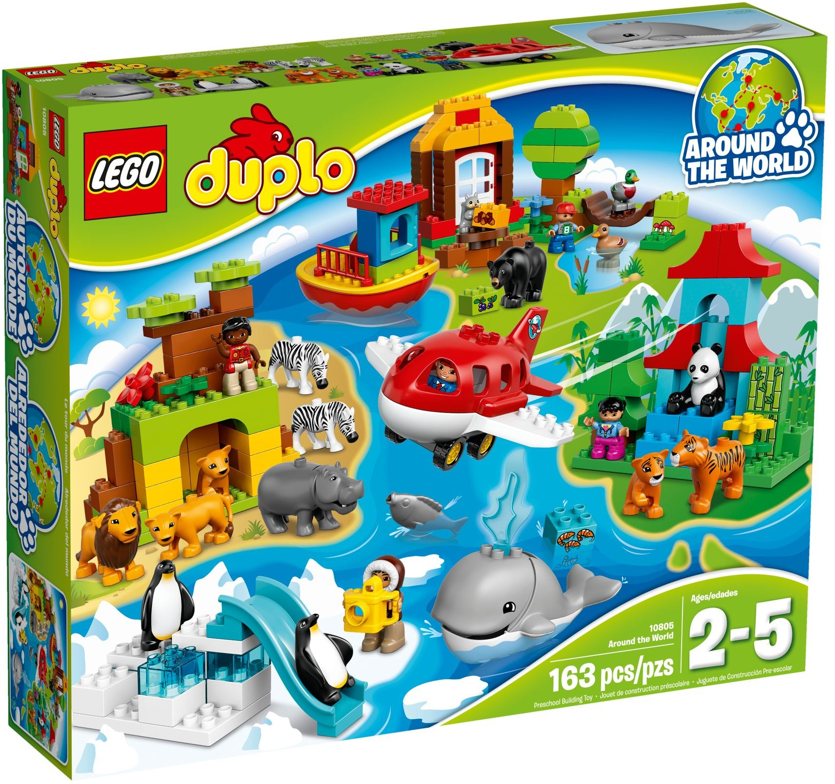 LEGO # 10805 DUPLO  Around the World