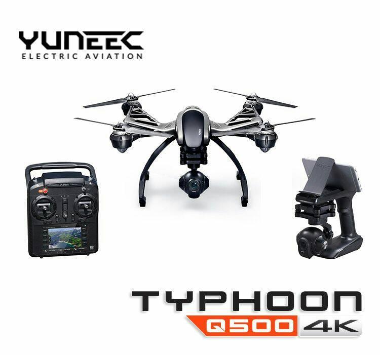 YUNEEC Q500 Typhoon UHD 4K Camera+Handheld Gimbal+Xtra Batery