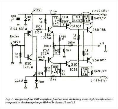 Jean Hiraga 20w Class A Amplifier Pcb