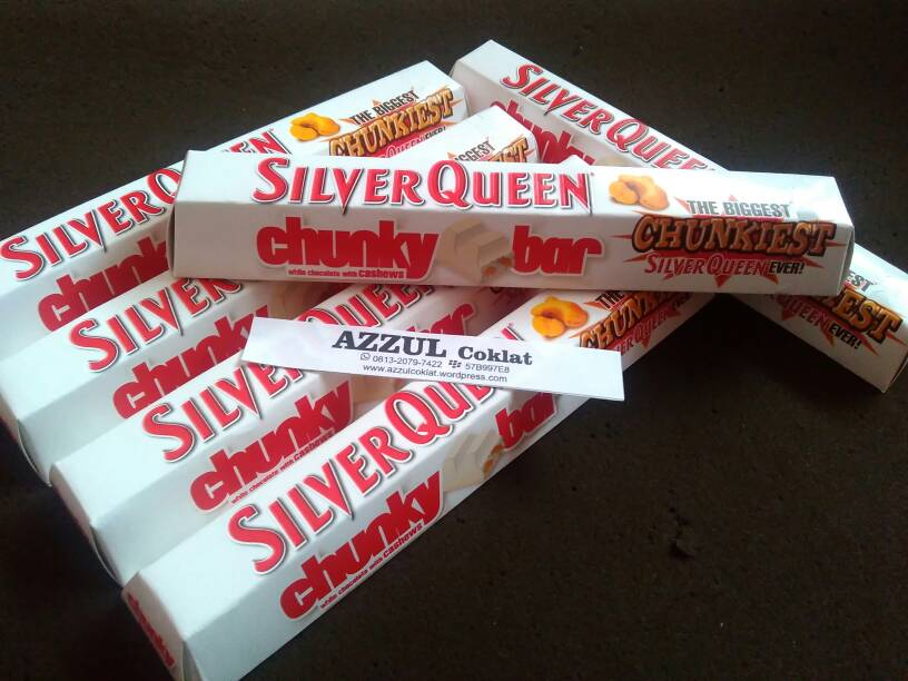 Image Result For Foto Coklat Silverqueen Chunky Bar