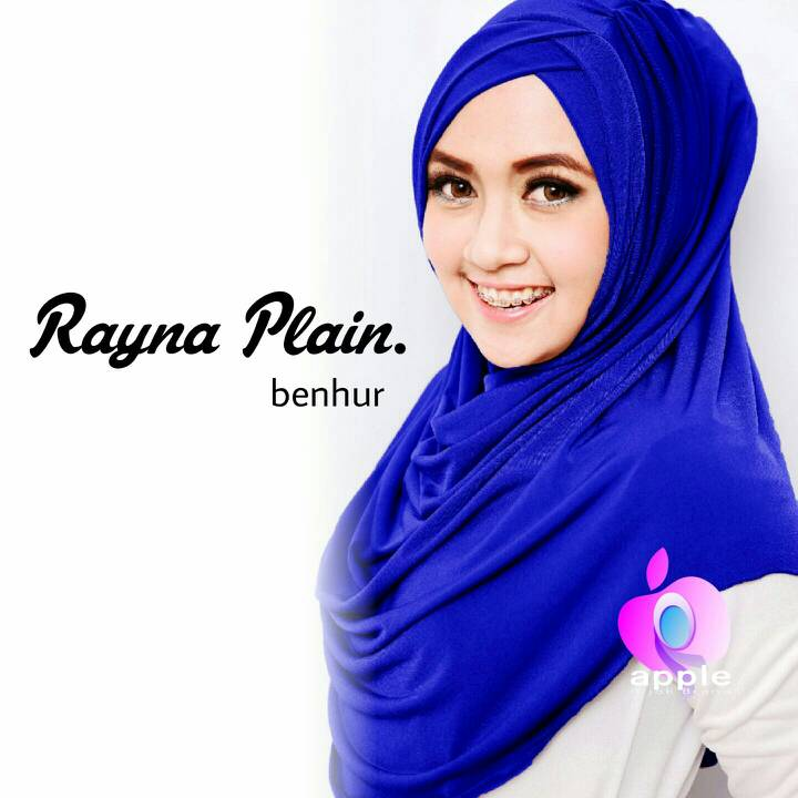 Hijab Instan Rayna Plain Ori Apple