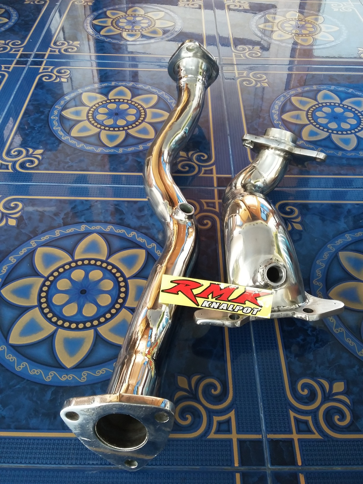 Downpipe & Frontpipe Honda Jazz Type S & RS