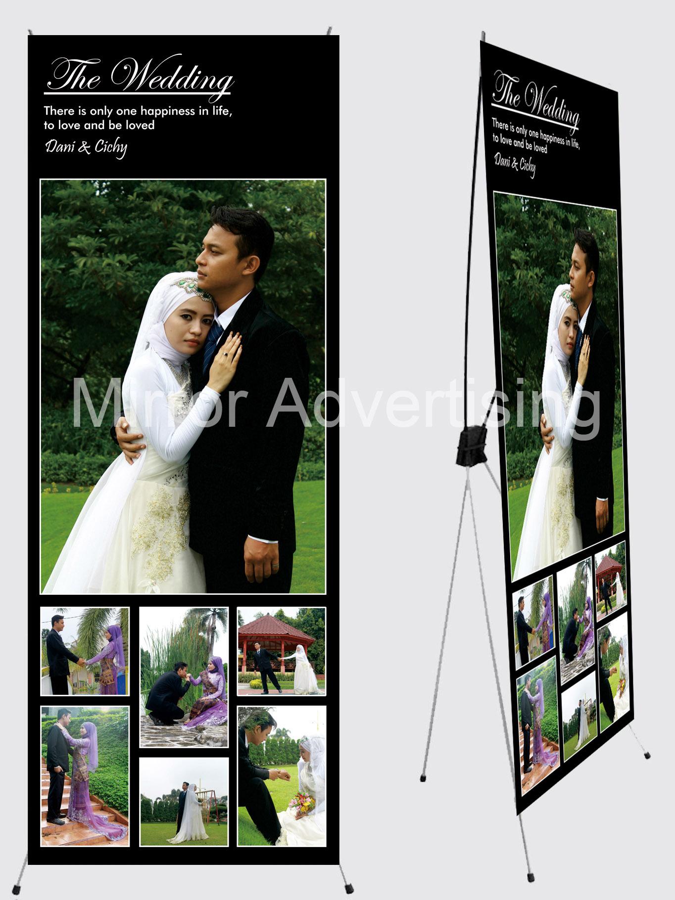 Design x banner pernikahan - Design X Banner Pernikahan 20