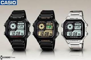 Jam Tangan Casio AE1200 WH - 1B Original / AE 1200 WH / AE 1200WH