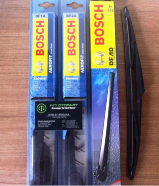 Wiper Blade BOSCH Aerofit Frameless Front&Rear All New Jazz