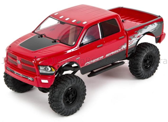 RC Car Axial Racing SCX10 Dodge Ram Power Wagon 4WD RTR