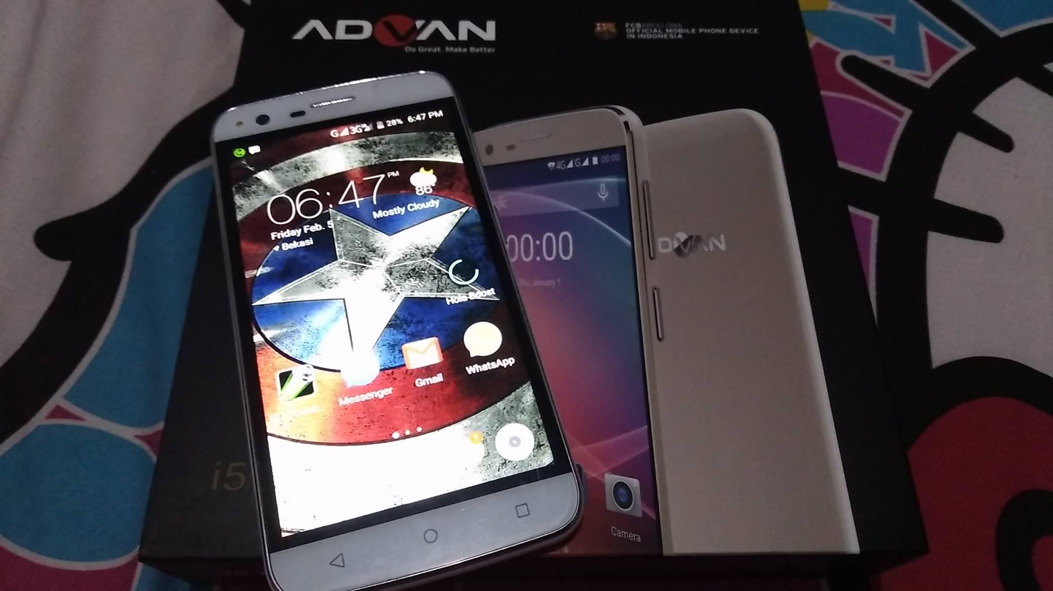 Download Firmware Advan i5
