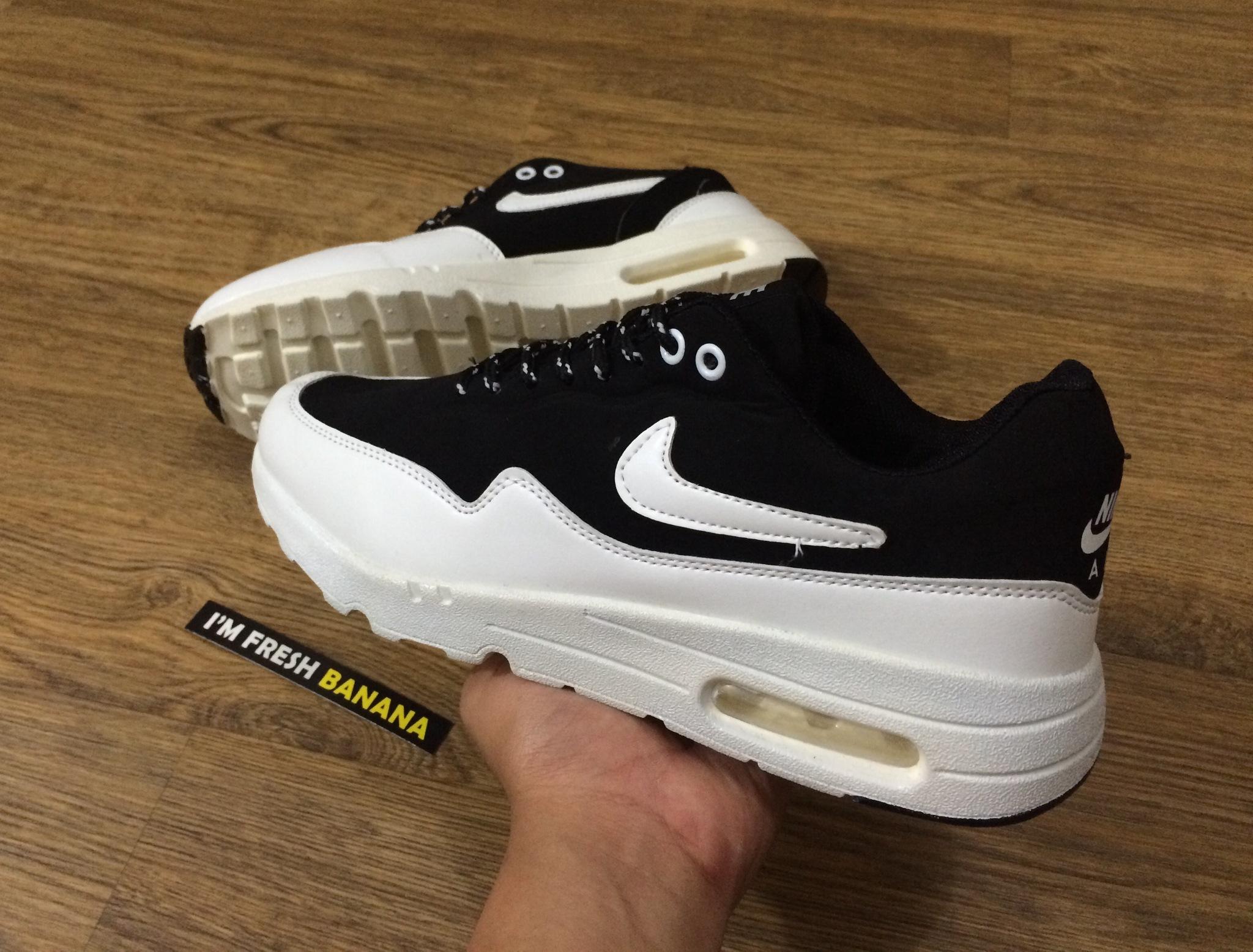 uk availability 28e2e 5aebe ... authentic jual sepatu nike airmax one 1 ultra moire white black fresh  banana tokopedia 12328 3a8a8