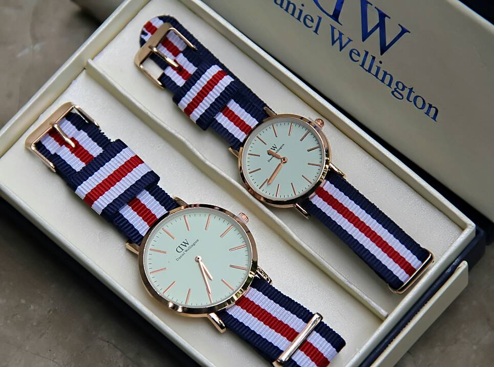 Jam Tangan DW Daniel Wellington D8 Couple