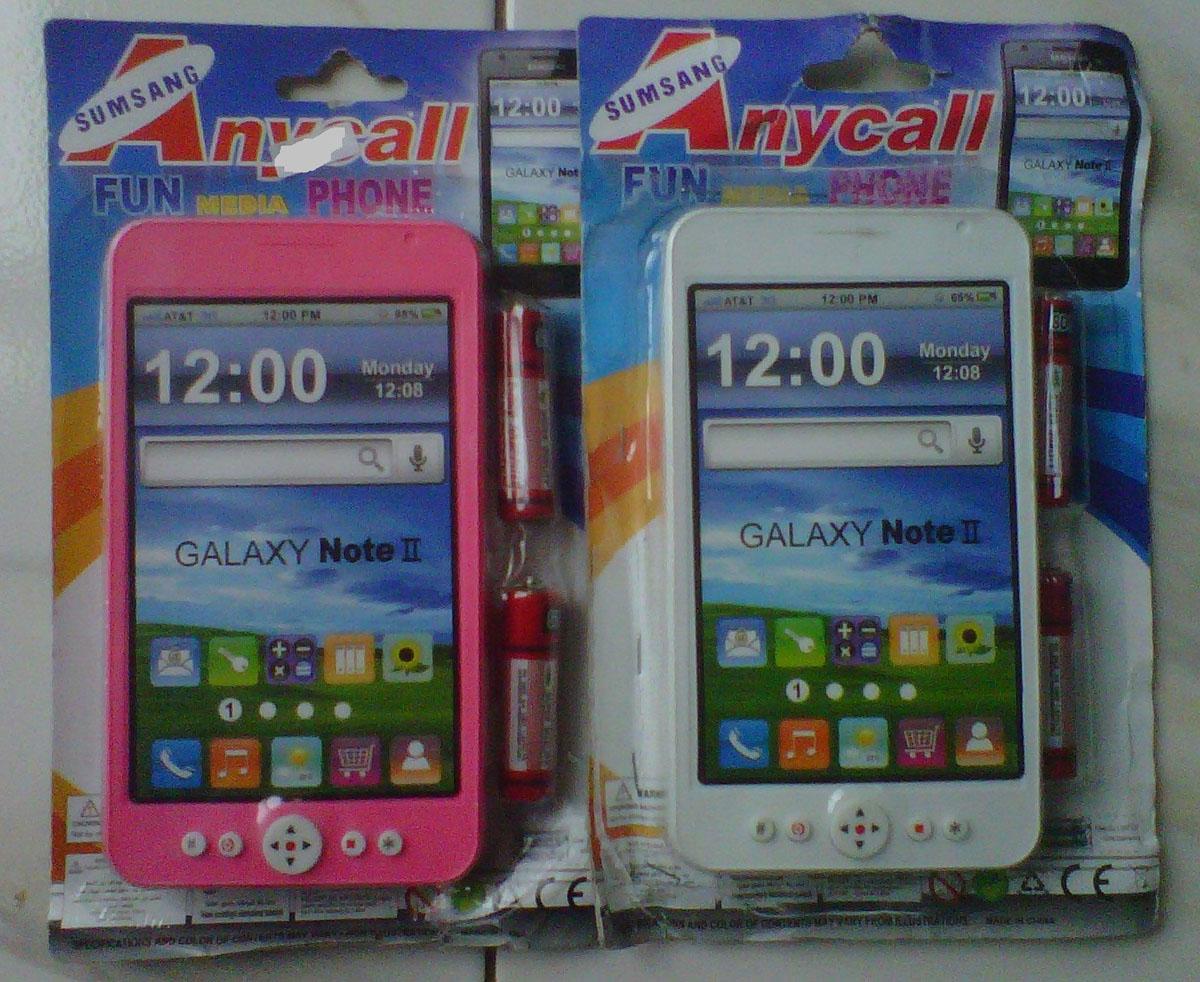 Jual Mainan Hp Samsung Galaxy Note Ii Kota Depok Suplier