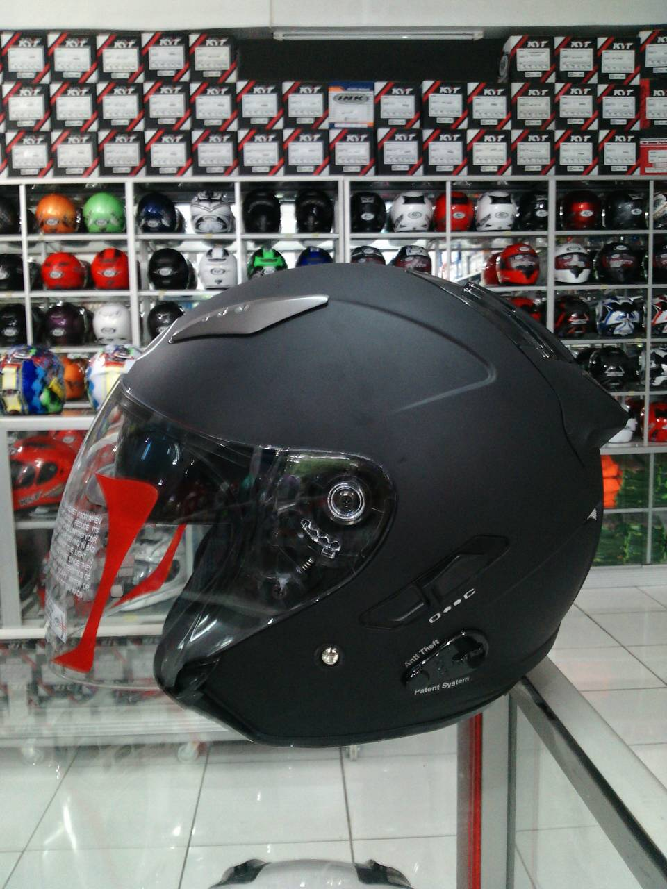 Jual Helm Kyt Galaxy 2 Visor Solid Di Indonesia