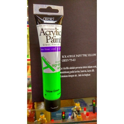 Acrylic Paint 75ml YELLOW GREEN