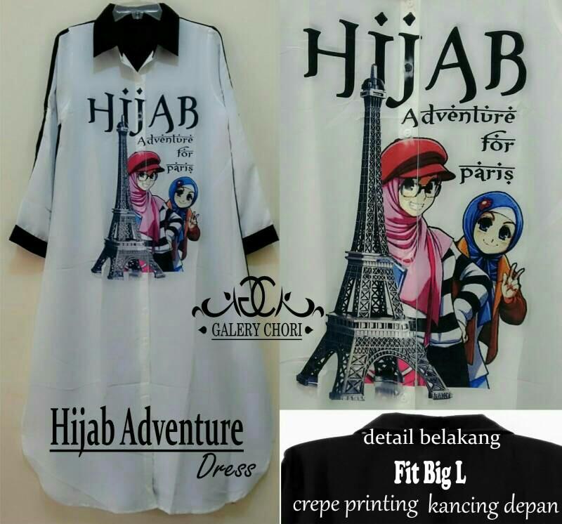 Hijab adventure top