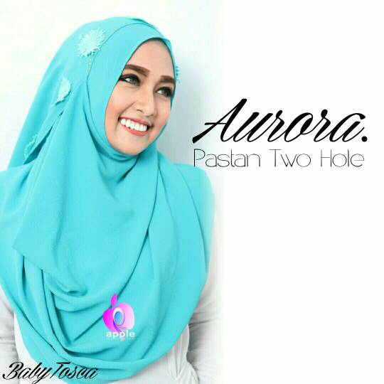 Aurora Pastan Two Face by Apple Hijab Brand - Aurora Two-Face Pastan