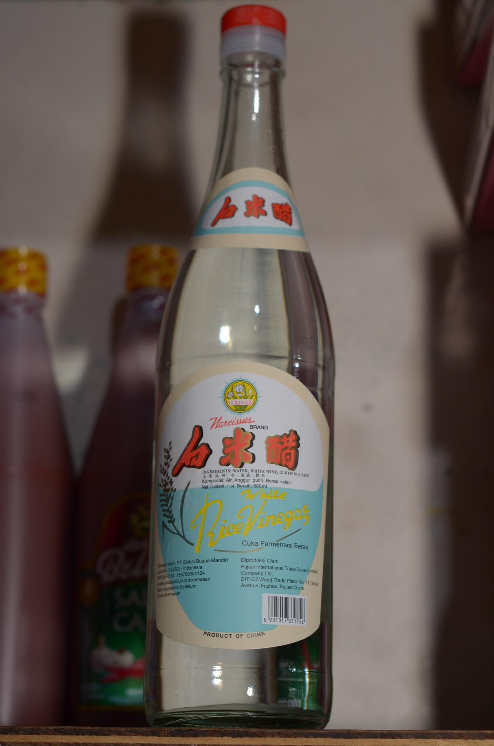 Jual Cuka Fermentasi Beras White Rice Vinegar The Kimchi Tokopedia Tambahan Bubble