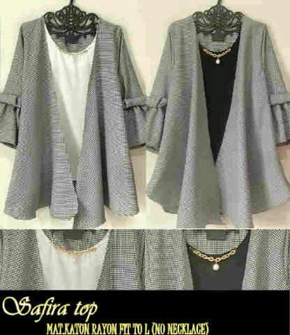 safira top  (blouse/atasan/top/hijab)