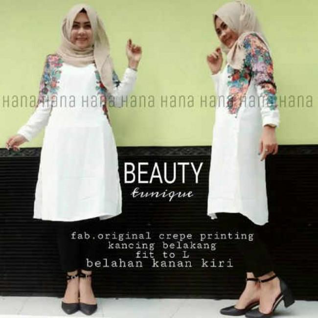 Busana Muslim Hijab Murah Beauty Tunik