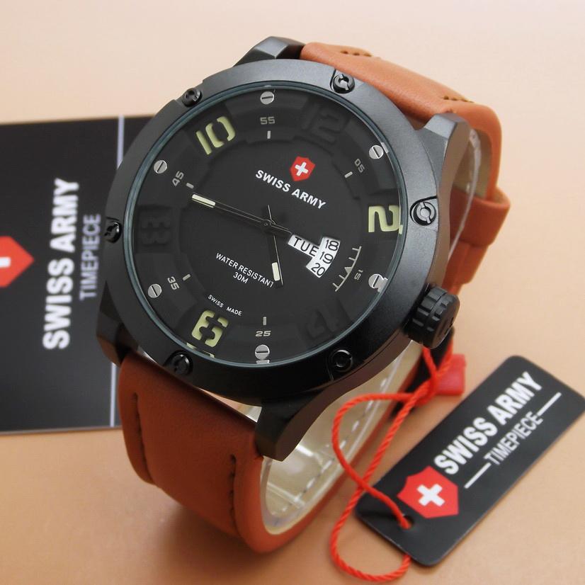 Jam Tangan Pria Murah Swiss Army AO-29 Original