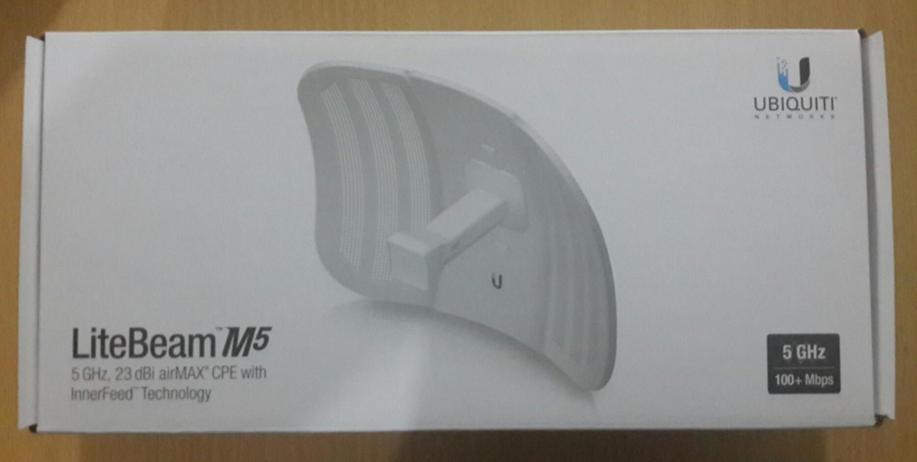 Jual Ubiquiti Litebeam M5 23 Lbe Silicon Net Tokopedia 23dbi
