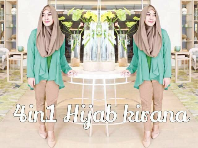 REVISI HARGA @67RB SET KIRANA HIJAB 4IN1