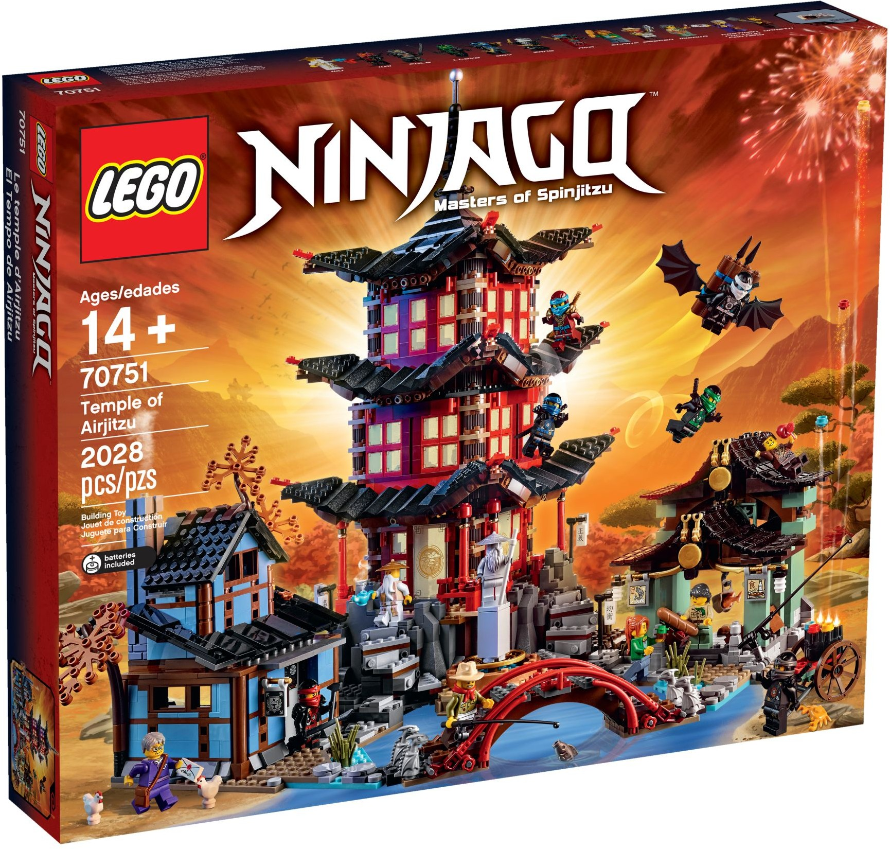 LEGO 70751 - Ninjago - Temple of Airjitzu