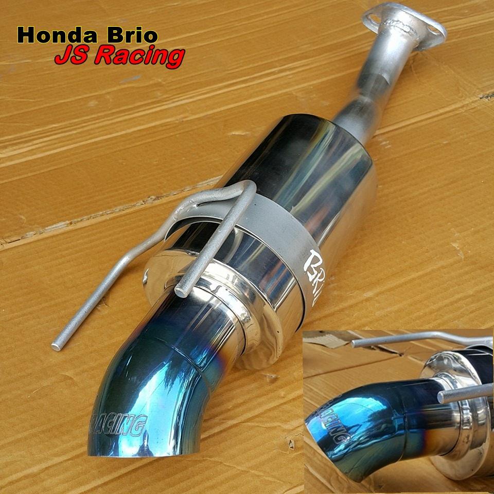 Jual Js Racing Knalpot Honda Brio Gt Tokopedia Muffler