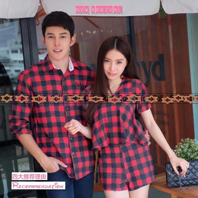 ... A1306 Shopee Indonesia Source Jual KAOS COUPLE kemeja kotak baju pasangan baju kembaran pk88 RAILEN