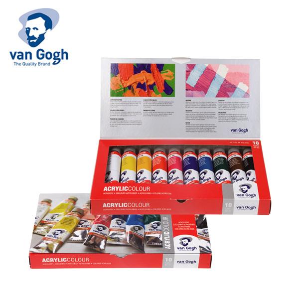 Van Gogh Acrylic Colour Basic Set 10x40ml