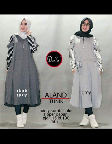 aland dres (katun)  /blouse/tunik/atasan/top muslim/hijab