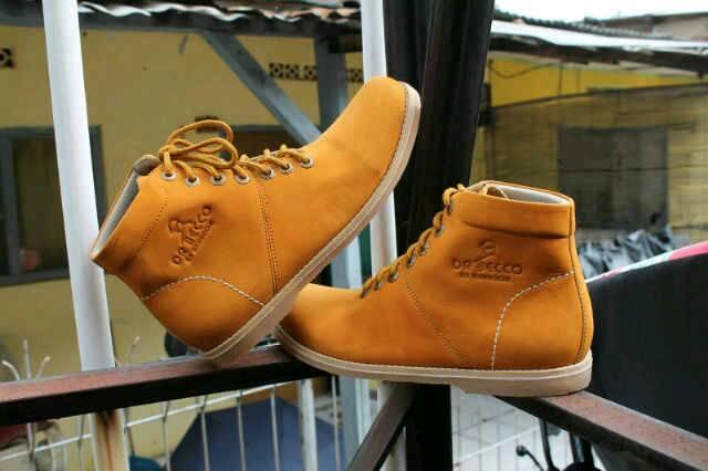 Jual Sepatu Boots Dr. Becco Brodo Kulit Asli Murah
