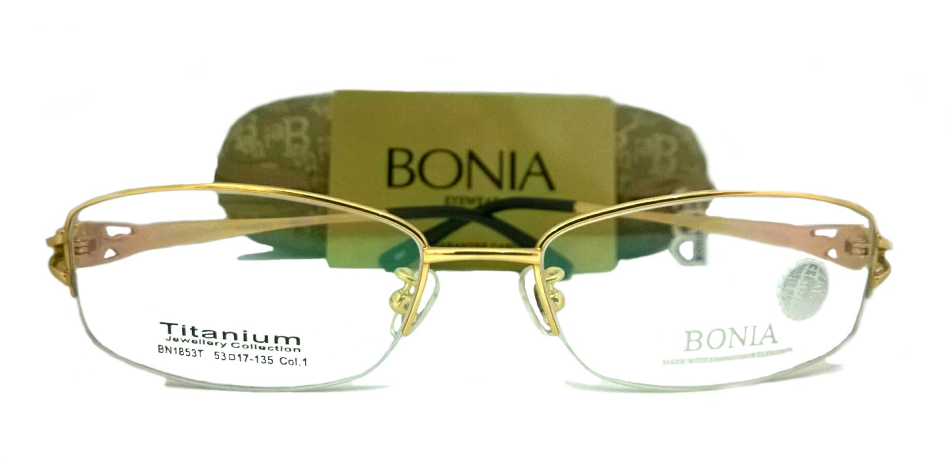 Jual Frame Kacamata Pria Wanita Bonia BN1853T Authentic