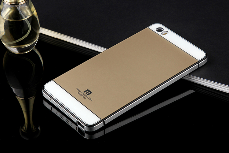 Jual Xiaomi Mi4i mi 4c Mi 4i mi4c Aluminium Frame Tempered Glass Back Case - Nexon