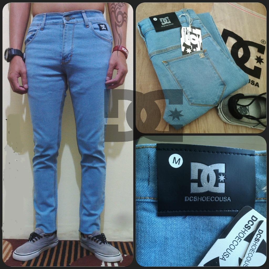 Celana Denim Pria Jeans Biru Muda Daftar Harga Barang Terkini Emba Fm316 Warna Hs 33 Jaket Sobek Jr0087 Shopee Indonesia Source Jual Dc