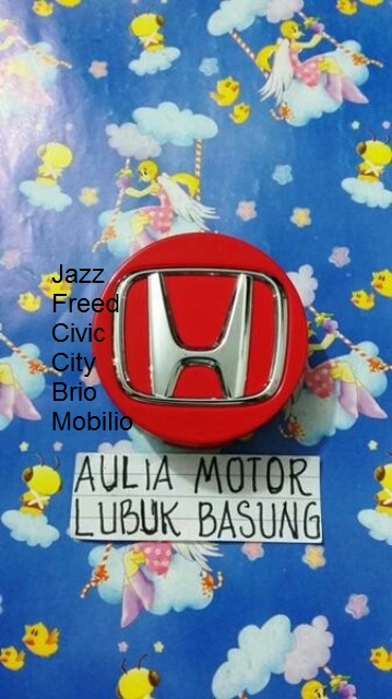 dop roda velg honda all new jazz freed civic city brio mobilio merah