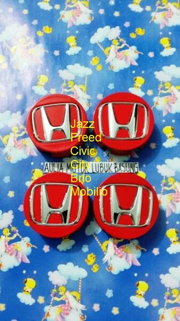 dop roda velg honda all new jazz freed civic city brio mobilio merah 4