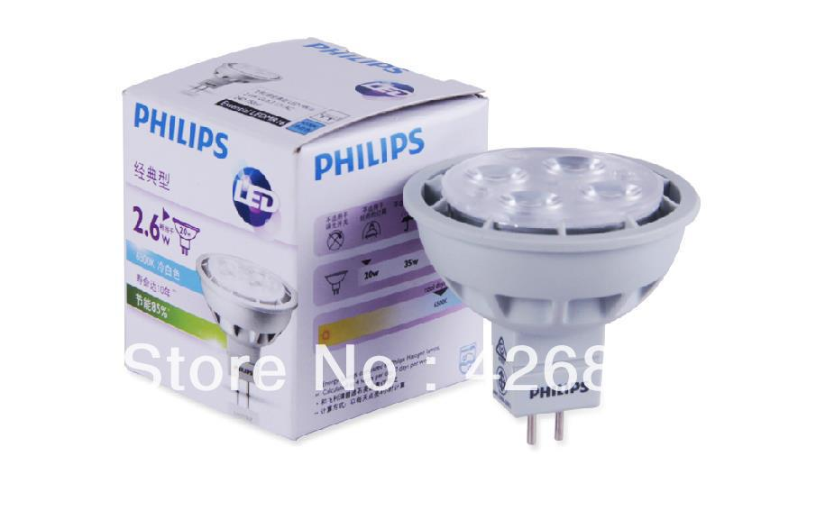Jual Halogen Led Philips 2 6w 12v Putih Mr16 24d Lampu