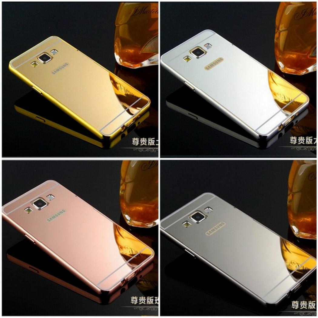 Case For Samsung Galaxy J5 2016 J510 Aluminium Bumper With Mirror Source. Case ...