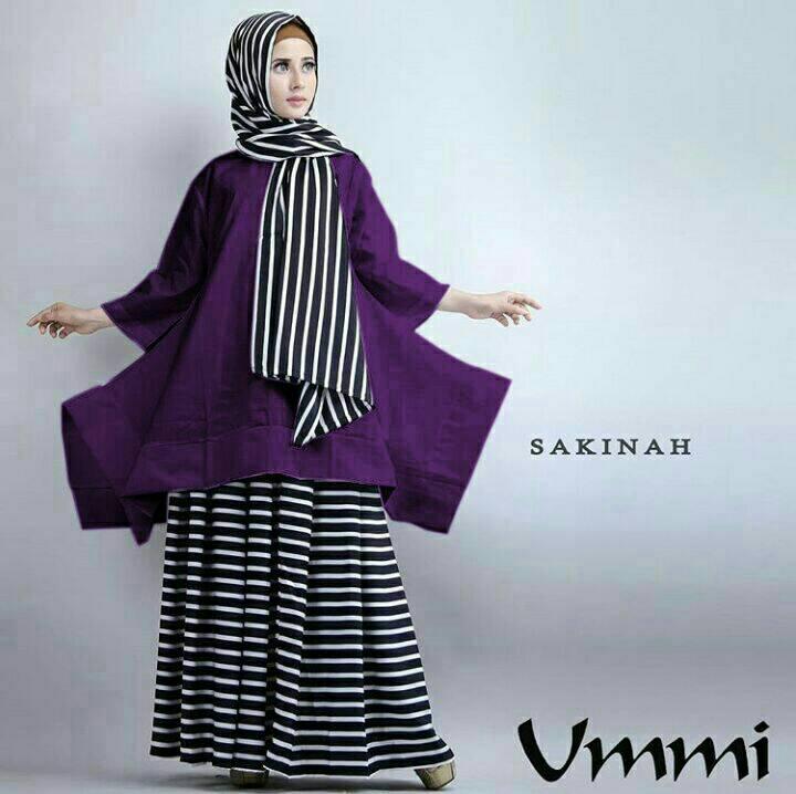 Hijab Sakinah Ummi Salur Set 3in1